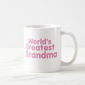 Mondes le plus grand Grandma..1 Mug Blanc