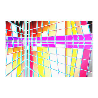 mondorianshitei 10 canvas print