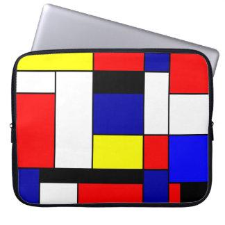 Mondrian #42 laptop sleeve