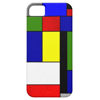 Mondrian #4 iPhone 5 covers