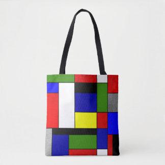 Mondrian #4 tote bag