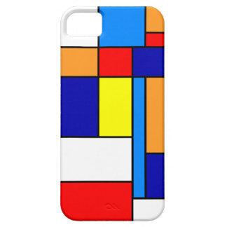 Mondrian #8 iPhone 5 covers