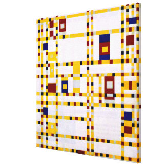 Mondrian - Broadway Boogie Woogie Canvas Print