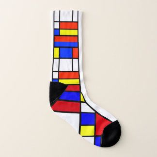 Mondrian - Composition II - Art Socks 1
