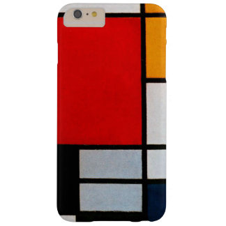 Mondrian - Composition with Large Red Plane Barely There iPhone 6 Plus Case