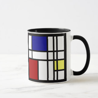 Mondrian Impression Art Mug
