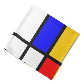 Mondrian inspiration bandanas