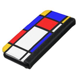 Mondrian knack iPhone 6 wallet case