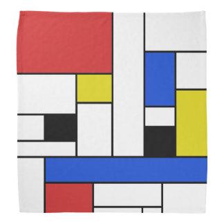Mondrian Lines Bandana