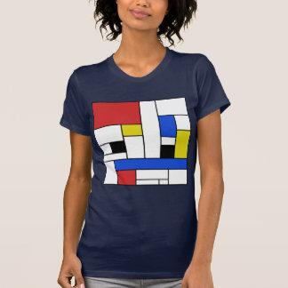 Mondrian Lines Women's Jersey T-Shirt