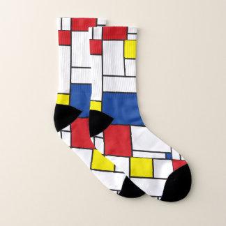 Mondrian Minimalist De Stijl Colorful Modern Art 1
