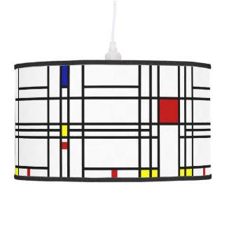 Mondrian Modern Art Pendant Lamp