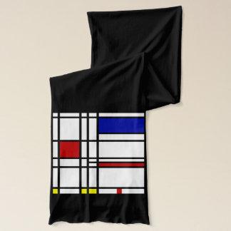 Mondrian Modern Art Scarf