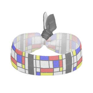 Mondrian - Primary Colors Hair Tie