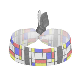 Mondrian - Primary Colours Hair Tie