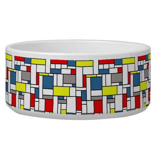 Mondrian style design