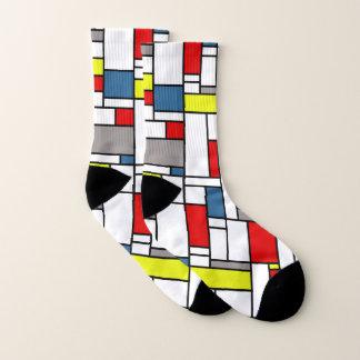 Mondrian style design 1