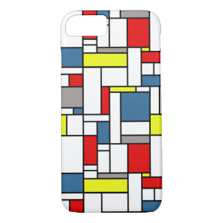 Mondrian style design iPhone 8/7 case