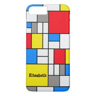 Mondrian Theme Phone Case