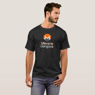 Monero Gangsta crypto currency-with logo T-Shirt