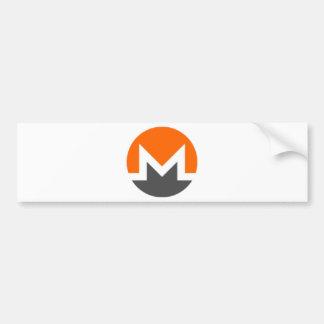 Monero Miner Bumper Sticker