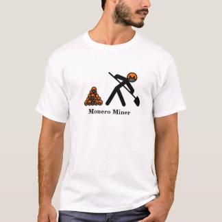 Monero Miner Stick Figure with Shovel T-Shirt