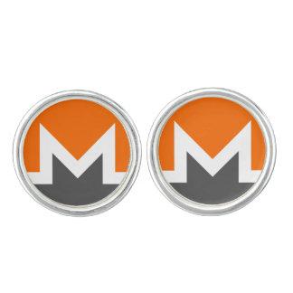 Monero Round Cuff Links
