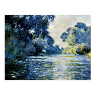 Monet - Arm of the Seine at Giverny Postcard