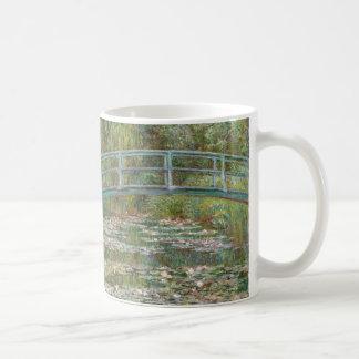 Monet Art Bridge over a Pond of Water Lilies Coffee Mug