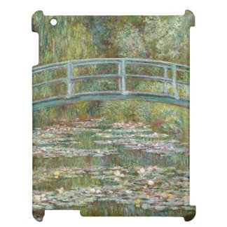 Monet Art Bridge over a Pond of Water Lilies iPad Case