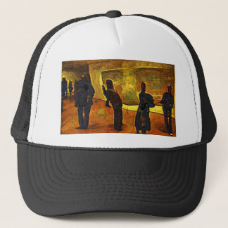 Monet at the Museum of Modern Art NYC Trucker Hat