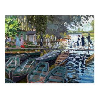Monet Bathers at La Grenouillère Postcard