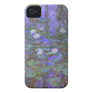 Monet - Blue Water Lilies iPhone 4 Case-Mate Cases