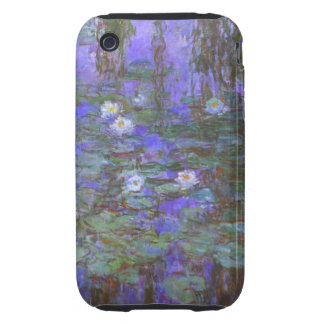 Monet - Blue Water Lilies iPhone 3 Tough Cover