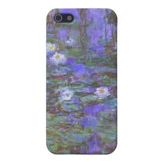 Monet - Blue Water Lilies iPhone 5 Case