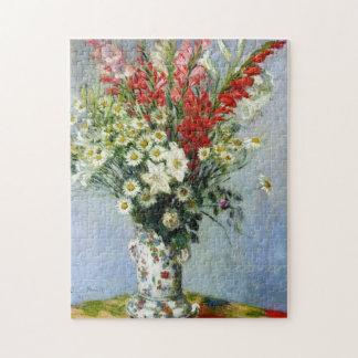 MONET Bouquet of Gladiolas 10x14 Puzzle