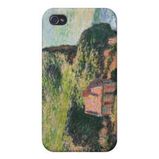 Monet - Customs House Painting iPhone 4 Cases