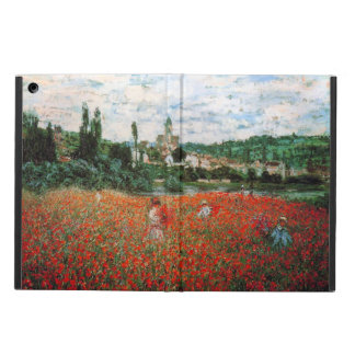 Monet Field of Red Poppies Case For iPad Air