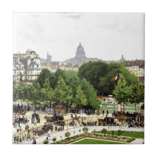 Monet Garden Of The Princess Ceramic Tile