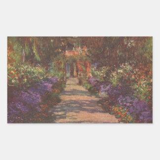 Monet: Garden Path, Sticker