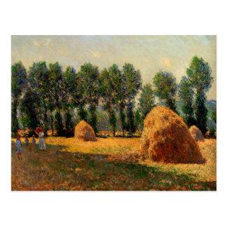 Monet - Haystacks at Giverny, 1885 Postcard