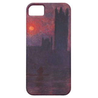 Monet Houses of Parliament at Sunset iPhone 5 Case