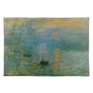 Monet Impression Sunrise Placemat