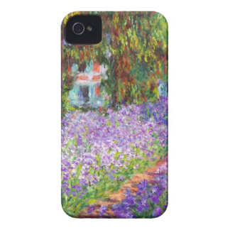 Monet - Irises in Monet's Garden iPhone 4 Covers