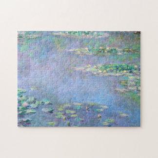 Monet Les Nympheas Water Lilies Fine Art Jigsaw Puzzle