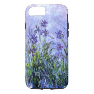 Monet Lilac Irises iPhone X/8/7 Tough Case