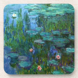 Monet Nympheas Water Lilies Coasters