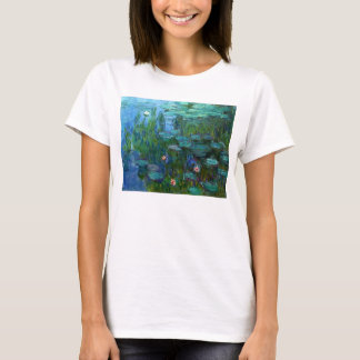 Monet Nympheas Water Lilies T-shirt