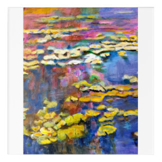 Monet on My Mind Acrylic Wall Art