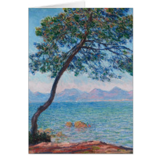 Monet Painting Greeting Card